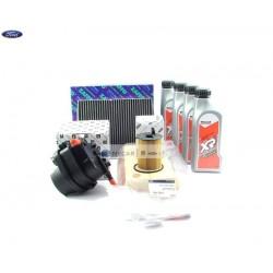Filtry zestaw filtrów olej Ford Fiesta 1,4 Tdci 2008-2010